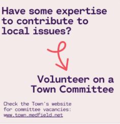 Volunteer on a Committee Image