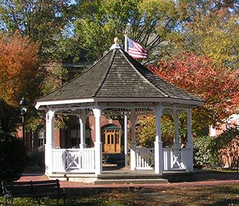 Gazebo in downtown